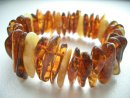 Amber jewelry - chips streched bracelet
