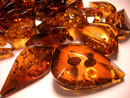 Faceted loose amber pendants - wholesale - wholesaler- Loose amber pendant shop