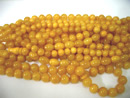 Arabic amber rosaries - orange amber prayer beads - worry beads